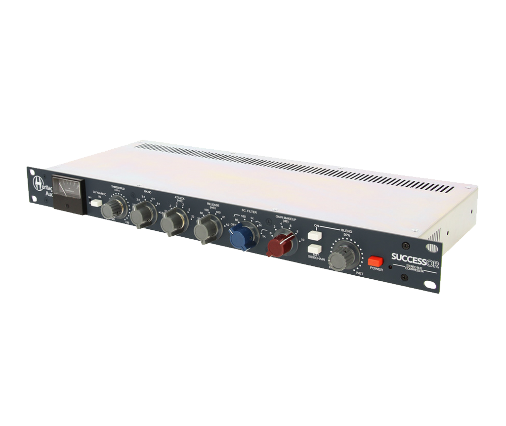 SUCCESSOR - Mic preamp, Preamplifier, Equalizer, EQ, Rackmount